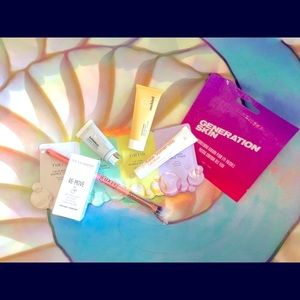 NEW - LOT - Birchbox Skincare Cosmetics & Brush